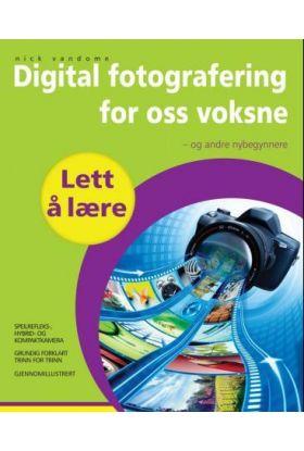 Digitalfotografering for oss voksne