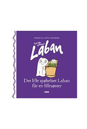 Det lille spøkelset Laban får en lillesøster