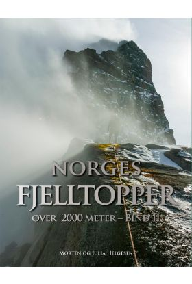 Norges fjelltopper over 2000 meter