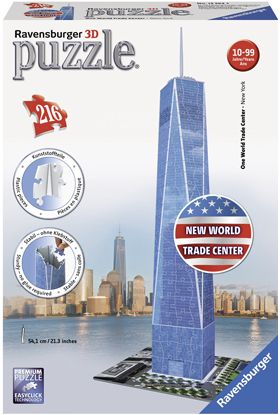 Puslespill Ravensburger 3D One World Trade Center