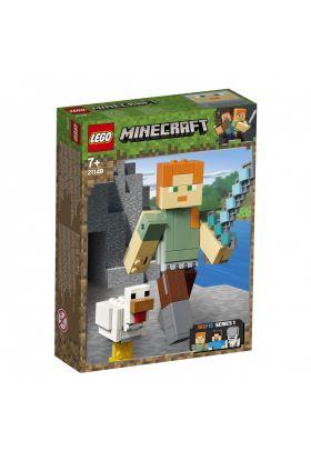 Lego Minecraft Bigfig Alex Med Kylling 21149