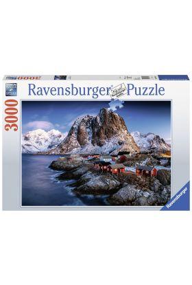 Puslespill Ravensburger 3000 Norway