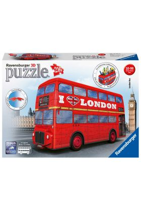 Puslespill 216 3D London Bus Ravensburger
