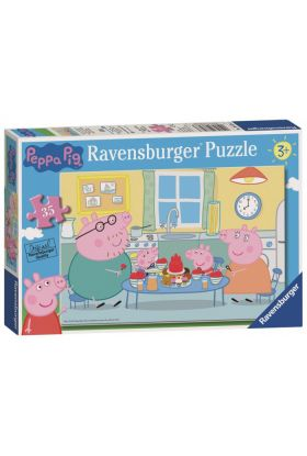 Puslespill Ravensb 35 Peppa Gris