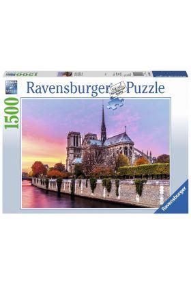 Puslespill Ravensburger 1500 Notre Dame