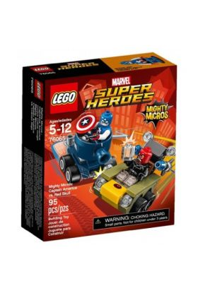 Lego Mighty Micros: Captain America mot Red S 7606