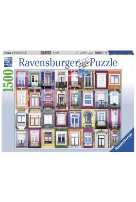 Puslespill Ravensburger 1500 Windows Porto
