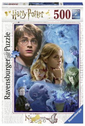 Puslespill Ravensburger 500 Harry Potter
