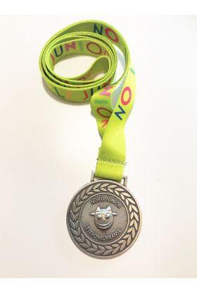 Medaljer Norli Junior Lesekonkurranse 2019: grønn