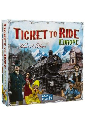 Spill Ticket To Ride Europe