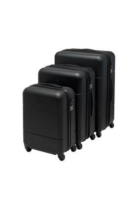 Koffertsett 7050 Beckmann 3 Black