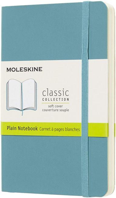 Moleskine Cl Notatb Pkt Plain Soft Rf Bl