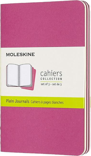 Moleskine Cahier Jrnls Pckt Pln Kin Pink