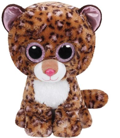 Bamse Ty Patches Leopard Tan Medium
