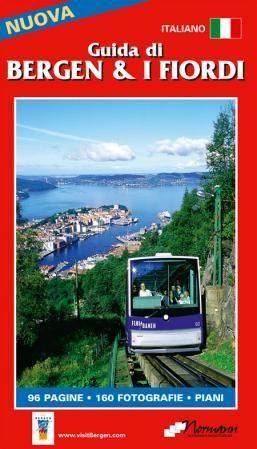 Guidebok Bergen & Fjordene Italiensk