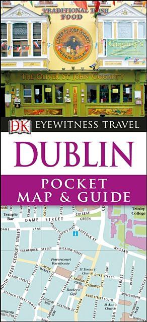 DK Eyewitness Dublin Pocket Map and Guide