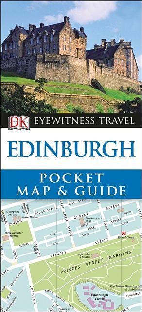 DK Eyewitness Edinburgh Pocket Map and Guide