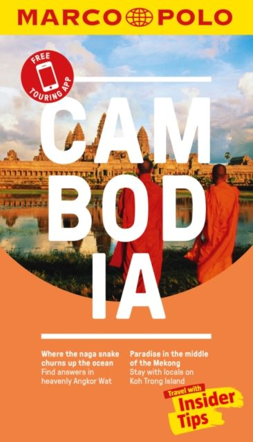 Cambodia Marco Polo Pocket Travel Guide - with pull out map