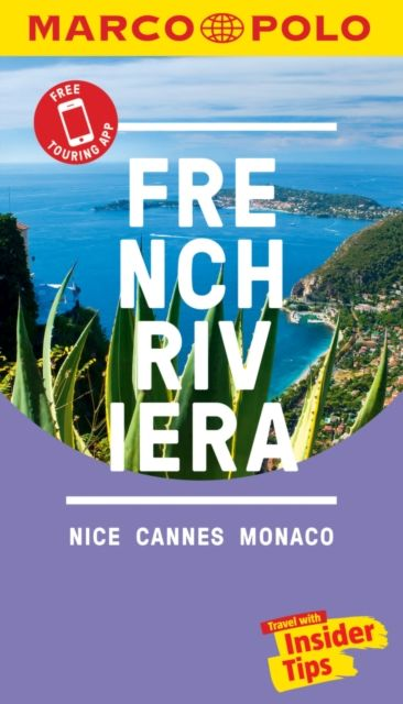 French Riviera Marco Polo Pocket Travel Guide - with pull out map