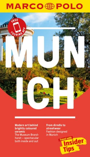 Munich Marco Polo Pocket Travel Guide - with pull out map