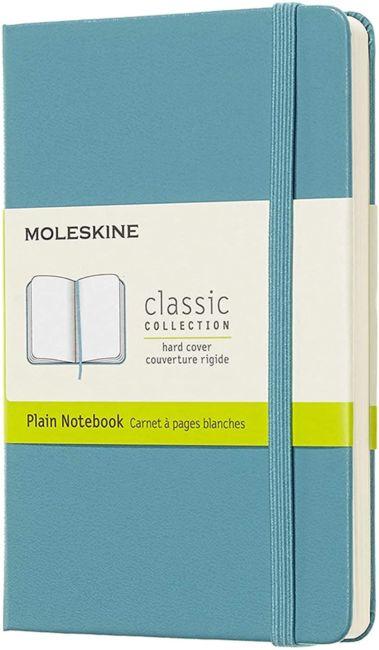 Moleskine Cl Notatb Pkt Plain Hard Rf Bl