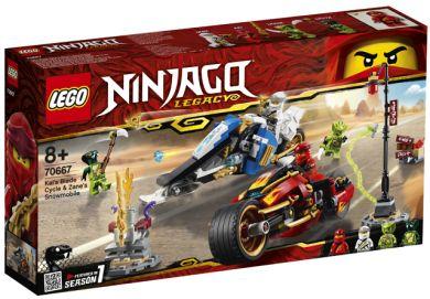 Lego Kais Knivracer Og Zanes Snøscooter 70667