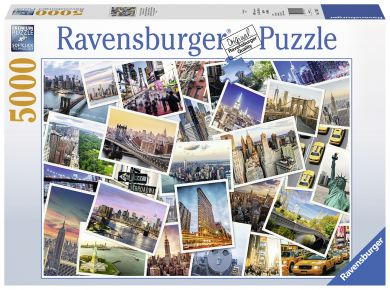 Puslespill 5000 New York City Ravensburger