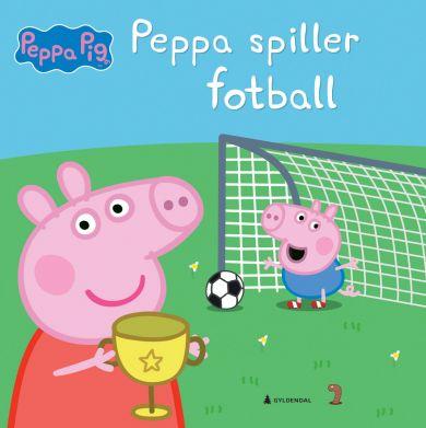 Peppa spiller fotball