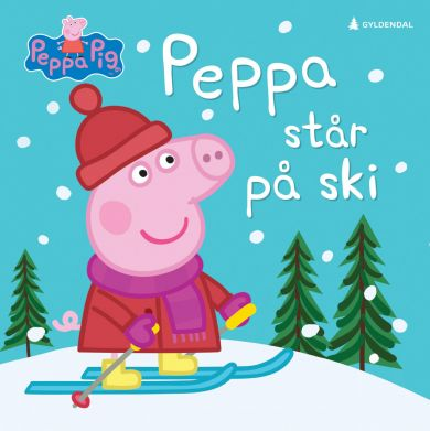 Peppa står på ski