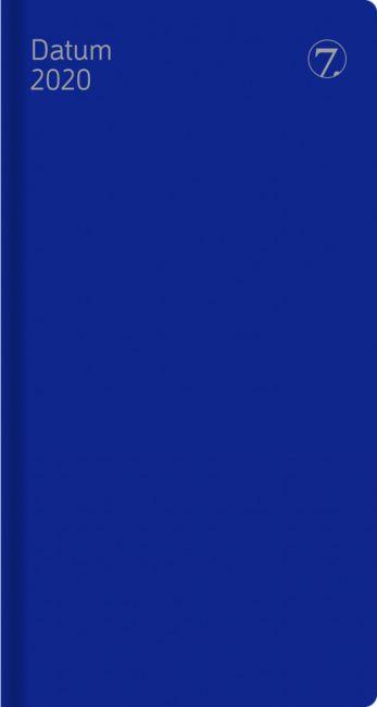 7.Sans Datum, Plast Blå 2020