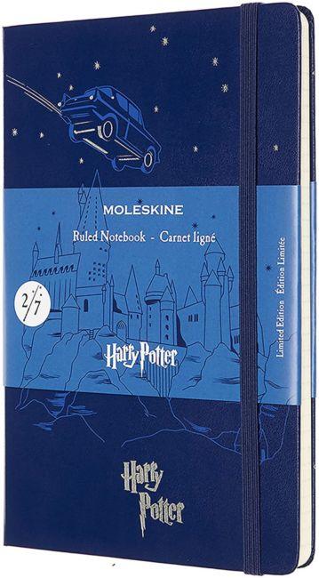 Notatbok Moleskine LE Hard L - Linjert Harry Potte
