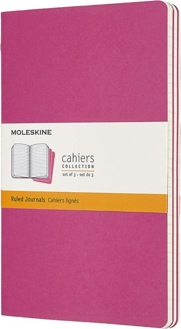 Moleskine Cahier Jrnls L Rld Kin Pink