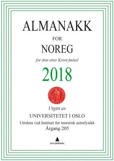 Almanakk for Noreg 2018