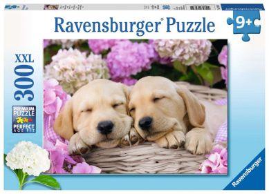 Puslespill 300 Søte Hunder Ravensburger