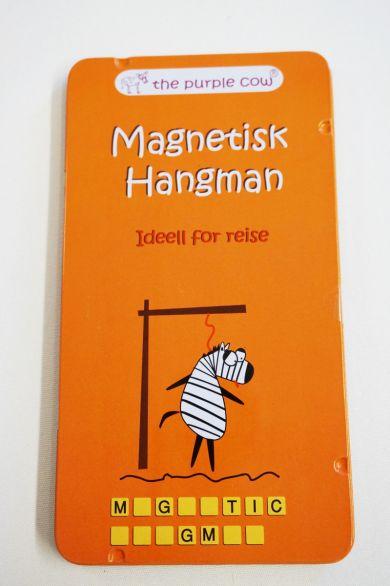 REISESPILL HANGMAN MAGNETISK