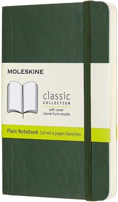 Notatbok Moleskine Classic Soft P - Blank Myrtle G