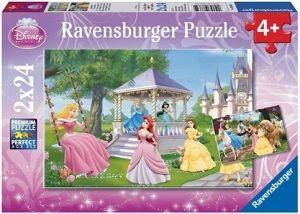 Puslespill 2X24 Prinsesser Ravensburger