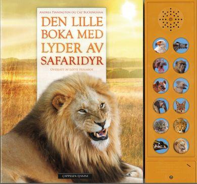 Den lille boka med lyder av safaridyr