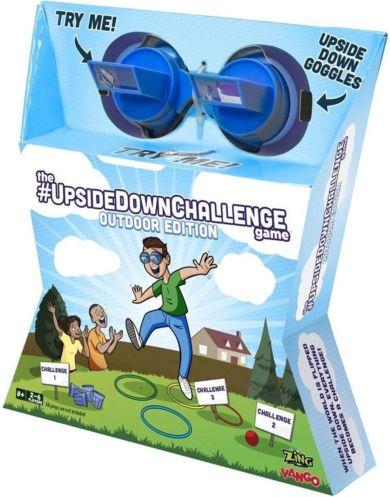 Spill Upside Down Challenge Outdoor