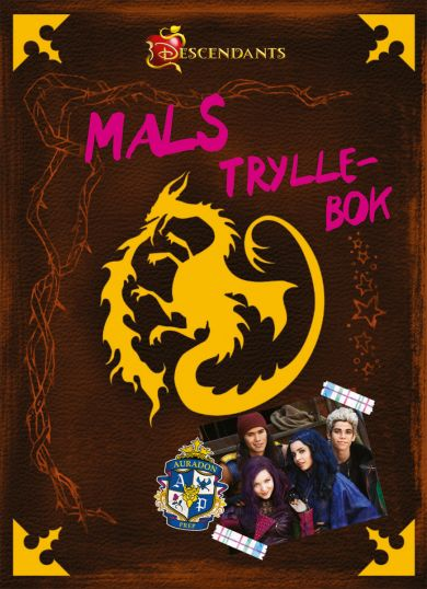 WD DESCENDANTS: MALS SPELL BOOK#
