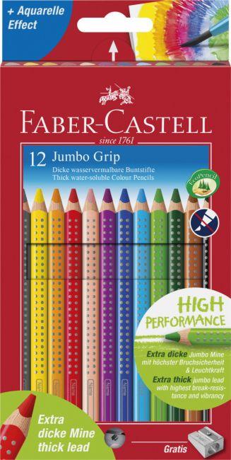 Fargeblyant Faber Jumbo Grip 12 Pk