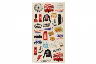 Stickers London Icons Wide