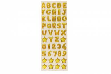 Stickers A To Z Balloons Slim