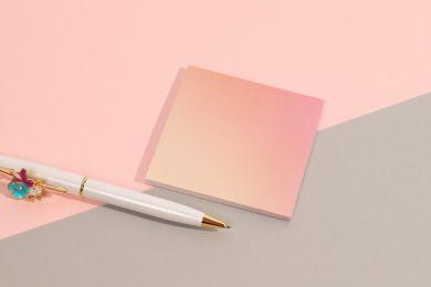 Selvklebende Ombre Square Sticky Notes