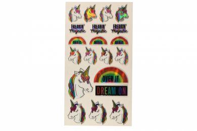 Stickers Freakin Unicorn Wide