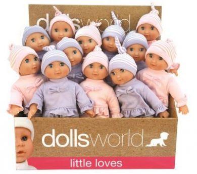 Dolls World  Molly  Myk Kropp M/Sovøyne (25Cm)