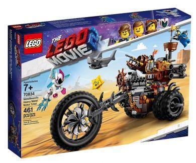 Lego Knivskjeggs Metalltrehjuling! 70834 - KUN RIN