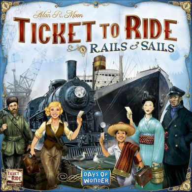 Spill Ticket To Ride Rails And Sails Sc
