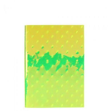 Notatbok A5 Fluro Yellow Lightning
