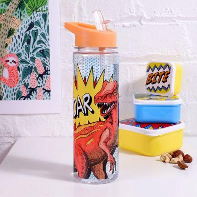 Drikkeflaske Ok Dinosaur Plastic